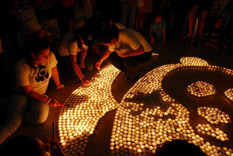 Cancun, Mexico, Earth Hour 2010