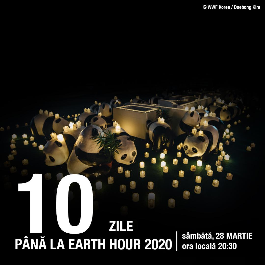 Mai sunt 10 zile pana la Earth Hour